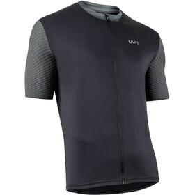 UYN Activyon MTB OW Shirt met Doorlopende Rits Heren, zwart/grijs